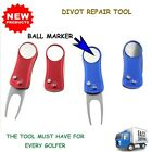 Golf Divot Repair Tool Accessories Pitch for Driving Range With Golf Ball Marker