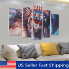 Kyпить 5Pcs Cool Indian Woman Canvas Print Painting Wall Picture Modern Home Art  на еВаy.соm