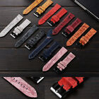 Suede Genuine Leather Watch Band Quick Release Strap For FOSSIL Q Smart Watch
