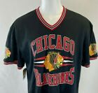 Mitchell Ness Chicago Blackhwaks Black Mesh Jeasey XXL New With Tags