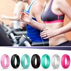 Kyпить 4Pcs/Set Women Rubber Silicone Fingers Band Gym Sport Ring Size 4/5/6/7/8/9/10 на еВаy.соm