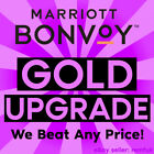 🍒 Marriott Bonvoy Gold Status Upgrade  |  Valid for 2+ Years! 🍒