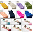 """11""""  x 108"""" Satin Table Runners Chair Swags Wedding Reception Party Decoration"""