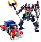 Lego Transformers 2 in1 Building Blocks Toy Set Robot Car Bumble Bee Truck Prime