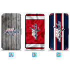 Washington Capitals Leather Case For iPhone X Xs Max Xr 7 8 Plus Galaxy S9 S8 $7.99 USD on eBay