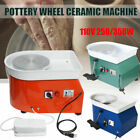 250-350W 25CM Electric Pottery Wheel Machine For Ceramic Work Clay Art Craft USA image