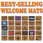 Funny Doormat Novelty Door Mat Birthday Home Office - SUPER VARIOUS DESIGNS BI1