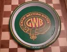 Vintage Retro Crown Brewery GWB Great Western Bitter Beer Tray VERY RARE