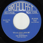HEARTBEATS - Broadcast 1125 - It's All Right with Me (prev unrel) - DOO-WOP VG++