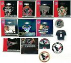 Texans Vintage Pin Choice 13 Pins Some new on card Houston NFL David Carr PDI on eBay
