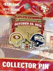 49ers 2015-2016 Game Day Pin Choice 9 pins San Francisco Forty Niners