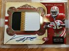 2011 NATIONAL TREASRES KENDALL HUNTER RC AUTO 3-CLR PATCH #05/99
