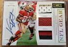 2011 NATIONAL TREASRES KENDALL HUNTER RC AUTO NFL GEAR PRIME PATCHES #02/25