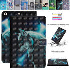 For iPad Mini 1 2 3 P9.7 Case Patterned Leather Card Slot Holder Folio Cover OEM