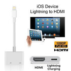 Lightning To HDMI Digital AV TV Cable Adapter Sync Data Cable for IPad IPhone X