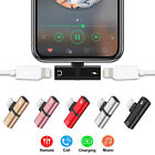 2 in 1 Earphone and Charger Splitter Adapter  For iPhone X  Max 8 7 6 Plus NEW