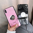 Shockproof Mirror Phone Case For Phone XS Max XR X 6 6S 7 8 Plus Soft TPU Cover