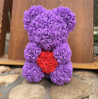 2019 Famous Roses Flowers Teddy Bear Valentine Gift Mother's Day, Anniversary
