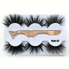 Looking False Eyealshes 100% 6D Mink Hair Dramatic Long Luxury 25mm Lashes