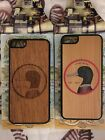 New CARVED Real Wood Case for iPhone 5 / 5S / SE Brown Wood Duck 2 Styles