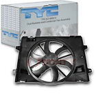 TYC 621380CU Dual Radiator and Condenser Fan Assembly for Ford 8W1Z 8C607 B sv