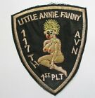 Patch - 117th AVN Little Annie Fanny 1st Platoon Vietnem War Patch