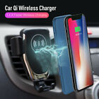10W Qi Wireless Car Charger Charging Mount Air Vent Holder For IPHONEX S XS DFG