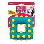 KONG Dotz Durable Dog Puppy Bouncy Rubber Texture Toy Clean Teeth Gums or Treats