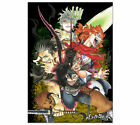 Black clover B2 Poster Japanese Anime from Japan