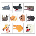Realistic Animal Gloves Toy Hand Puppets Role Play For Kids Non-toxic Soft PVC
