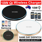 Wireless Charger Qi Fast Charging Receiver iPhone X 8 XS XR Samsung 8 S8 S9 S10