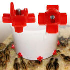 1/5PCS Horizontal Side Mount Screw In Drip Free Chicken Waterer Nipples Nozzles