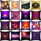 Eid Mubarak Pillow Cover Sofa Ramadan Cushion Cover Home Decor Pillow Case Us