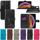 For iPhone X XR XS Max 5S 6 7 8 Plus Wallet Leather Case Flip Stand Phone Case