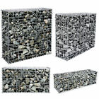 Gabion Retaining Wall Wire Mesh Cage Stone Basket Fence Garden Patio Privacy