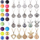 Harmony Bola Ball Cage Women Pregnancy Baby Angel Caller Pendant Chain Necklace