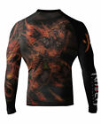 Raven Fightwear Men's Fire Element BJJ MMA Rash Guard