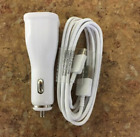 Samsung Galaxy Fast Adaptive Car Charger + Wall Charger + Micro USB + Type-C USB