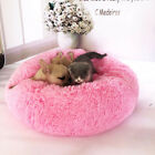 Deluxe Round Soft Dog Bed Pet Puppy Cat Warm Basket Cushion Plush Mat Pad