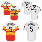 Men's Houston Astros #5 Jeff Bagwell Throwback Pullover CoolBase Jersey Stitched on Ebay