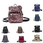 Portable Women Sequins Backpack Girls Mini School Bags For Teenage Girls Ba O5U7