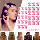 Silicone Hair Curler Roller Hair DIY No Heat Magic Spiral Clip Tool 10/20/30PCS