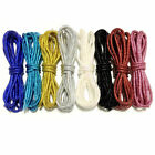 """45"""" Bling Metallic Glitter Shoelaces Bling Round Sport Shoe Laces String Sneaker"""