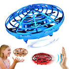 Mini Hand Operated Drones 360° Rotating Smart for Kids Flying Toys Hand Control