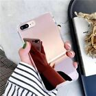 Drop Resistant Mirror Phone Case For iphone XS MAX XR X 7 8 6s 6 plus Protective