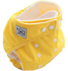 Free Shipping Baby Kids Reusable Washable Cloth Diapers Nappies Diaper Yellow