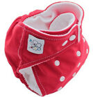 Free Shipping Baby Kids Reusable Washable Cloth Diapers Nappies Diaper RED