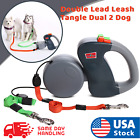 Внешний вид - Retractable Pet Dog Double Lead Leash Tangle Dual 2 Dog 50 Pounds Per Dog