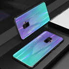 For Samsung S9 Plus Case Note 9 S8 Tempered Glass Back TPU Shockproof Thin Cover