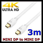3m Mini Displayport Display Port DP Cable Male to Male Digital Adapter for Mac